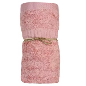 Bamboo Hand Towel Coral Pink from Gloves and Sanitisers