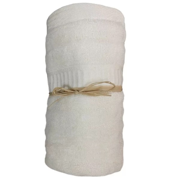 Bamboo Hand Towel Soft Cream from Gloves and Sanitisers