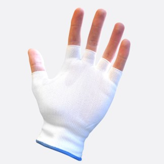 Finger-less Cotton Glove Liner