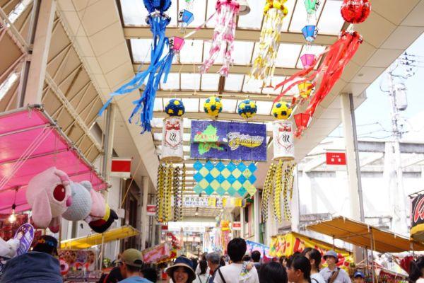 前橋七夕祭りに行って来ました。