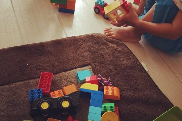 LEGOとはにわの里のお祭り