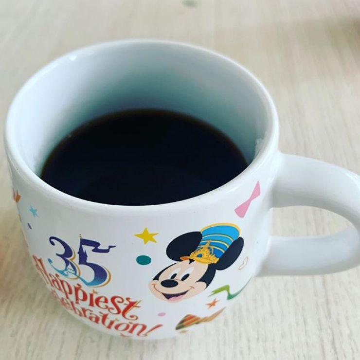 ピロリ菌除去中4日目。カフェイン控えめコーヒー。
