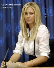 Ambassador Maria Y Sharapova