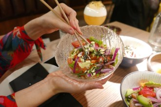 Edamame Vicky REVIEWED: London's TOTALLY gluten free Japanese restaurant Mommi restautant - Bikini Girls Diary