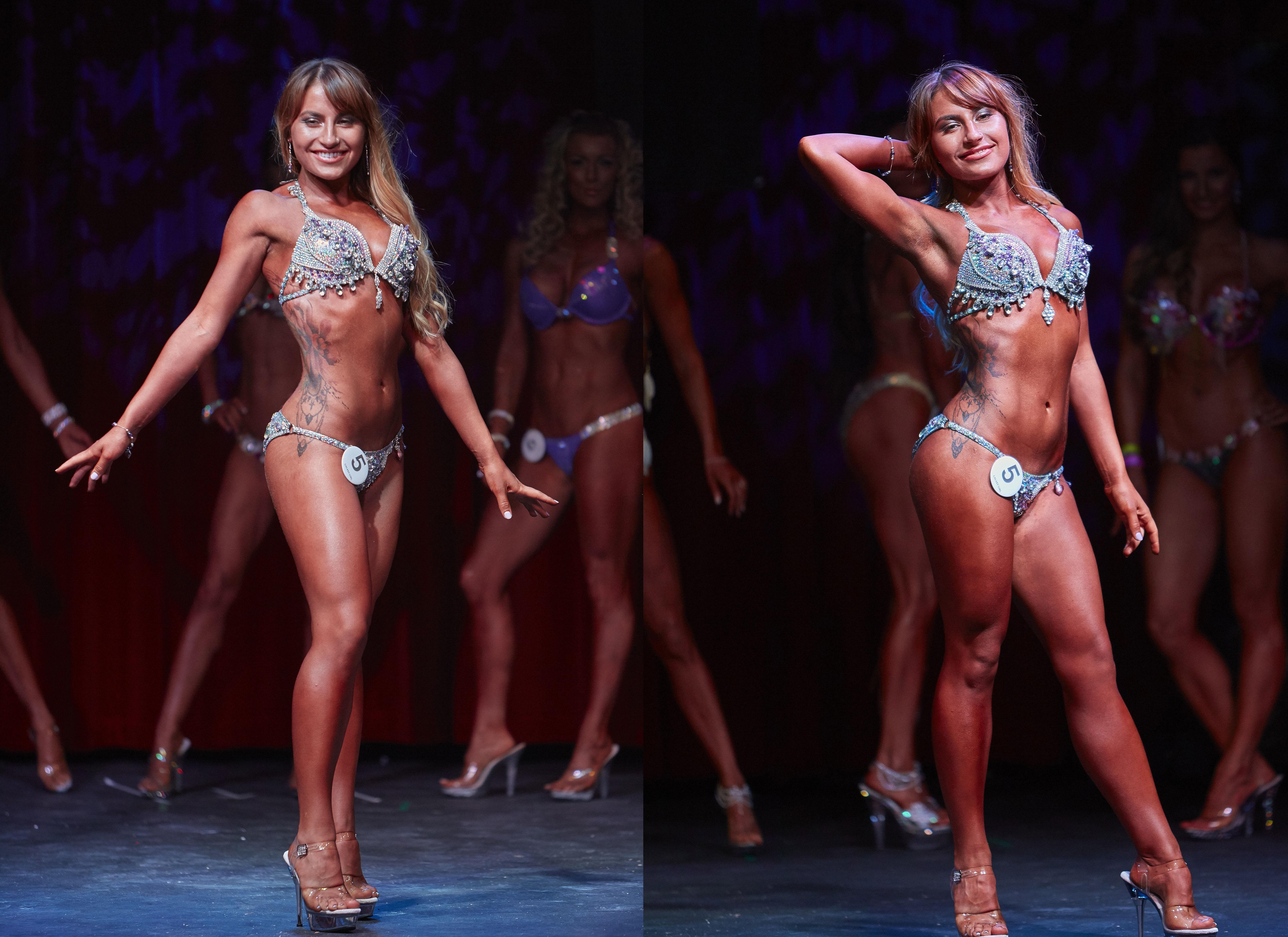 Deni Kirkova bikini fitness model competitor bodybuilding