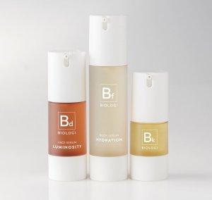 Biologi's Bf Hydration Serum. Biologi's Bf Serum (centre)
