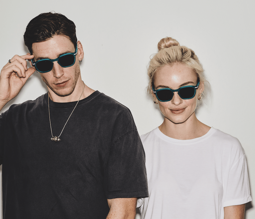 Australian fashion accessories label Good Citizens make recycled sunglasses
