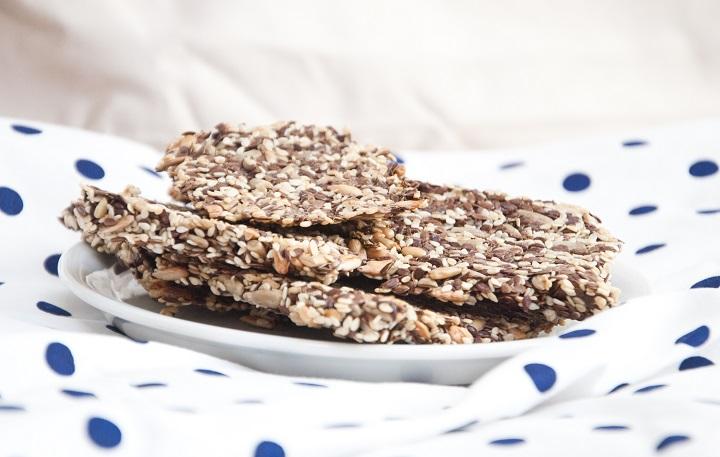 recept crackers zaden
