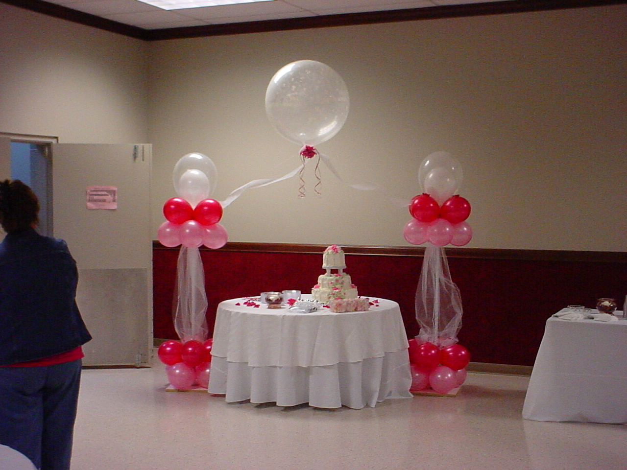 Beach Party Table Centers