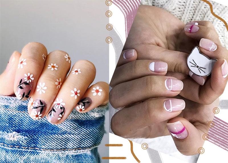 65 Awe Inspiring Nail Designs For Short Nails Short Nail Art Designs