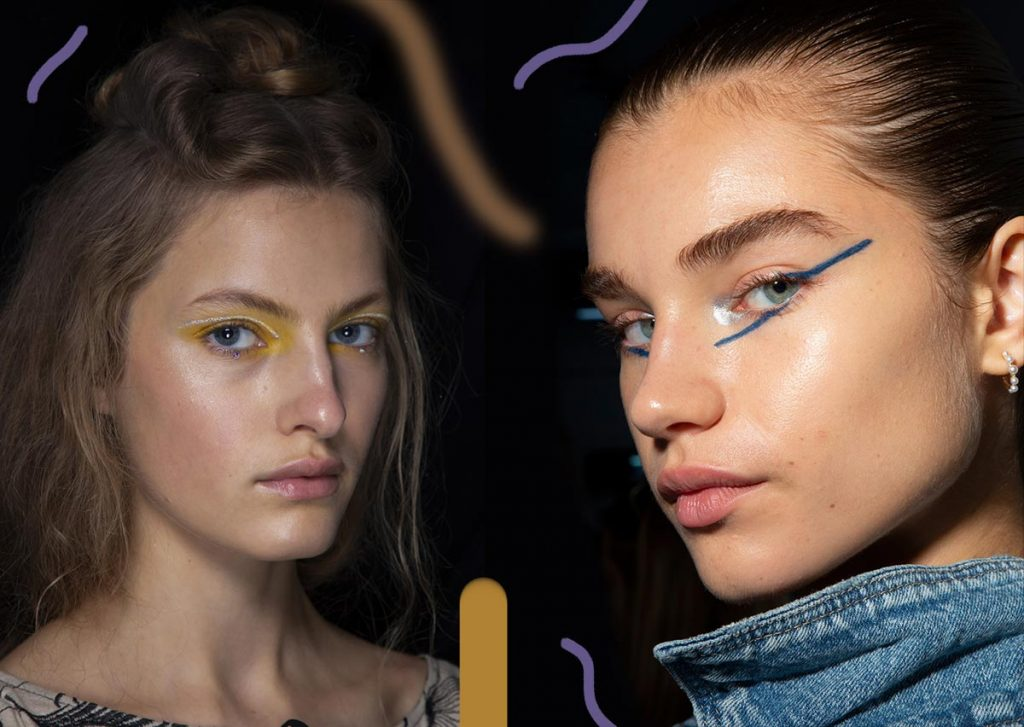 Spring Summer 2020 Makeup Trends Runway Makeup Looks Ideas