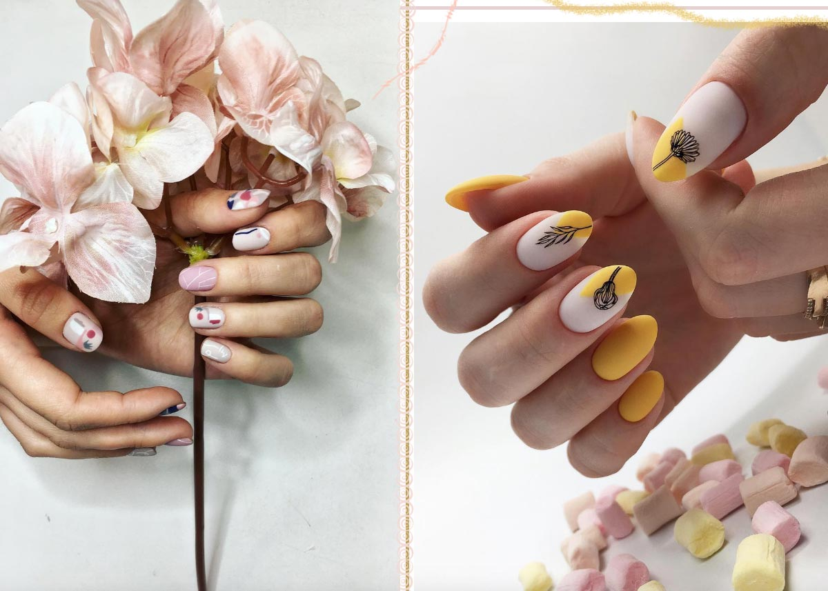 61 Pretty Spring Nails To Copy Spring Nail Designs For 2020