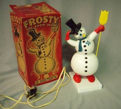 1950s Miller Electric Lighted Frosty with box