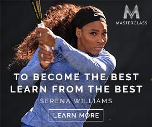 serena williams master class tennis