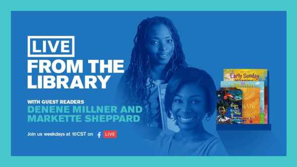 Denene Millner Markette Sheppard live from the chicago public library