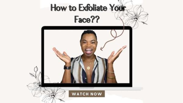 b rich beauty how to exfoliate