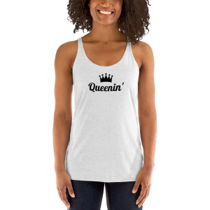 womens racerback tank top heather-white