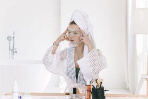 woman facial spa skincare