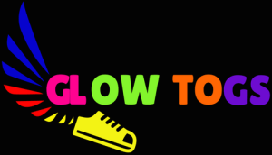 Glow Togs Premium LED Shoes, Sneakers and Footwear - Full Logo