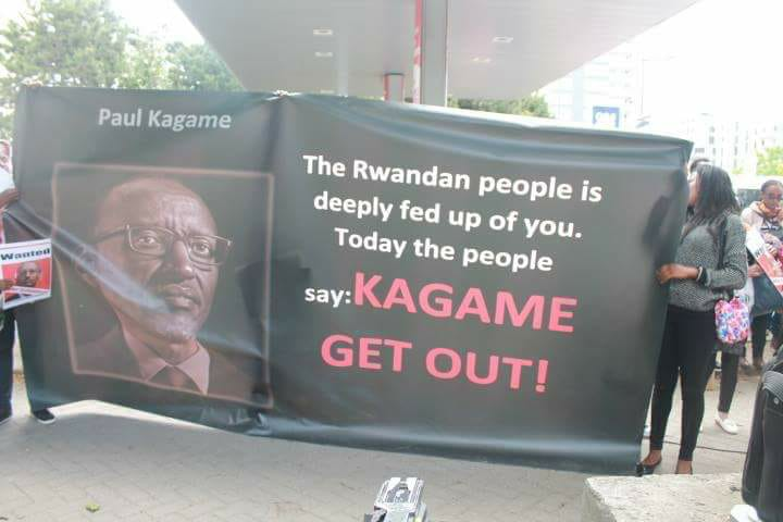 The message is loud and clear! –> Kagame get out!! – GLPOST