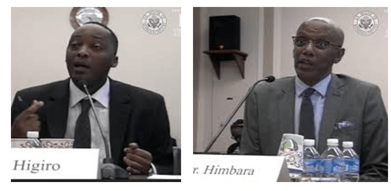 Please mark your calendar and tune in on 09/27/2017 when Davind Himbara & Robert Higiro will testify in the US Congress on Foreign Affairs subcommittee