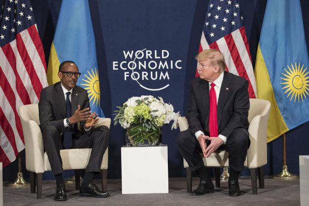 Kagame nowhere to be seen on the list of who's coming to Davos!