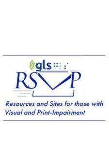 RSVP list logo, an envelope