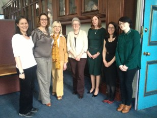 With the MmITS Committee: Leigh, Shayna, Paulette, Anabel, Anne Louise, Louise, Lynda