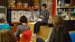 Jennifer telling us about InfosmART