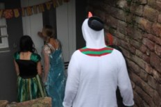 Olaf, Elsa, Anna