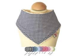 Entdecken Sie hier unser Halstuch Vichykaro in vielen Farben für Babys und Kleinkinder