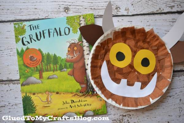 Paper Plate Gruffalo {Kid Craft}