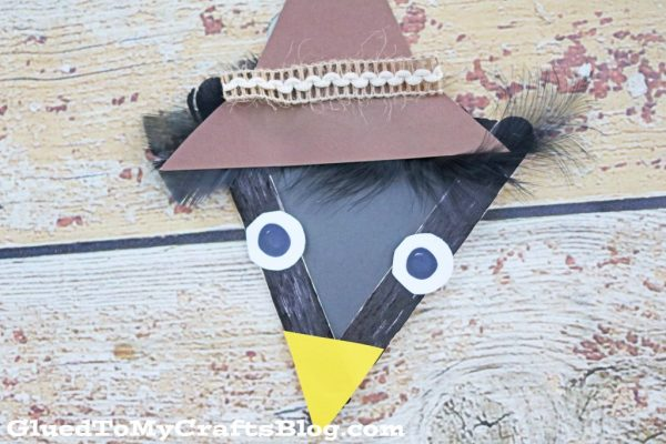 Popsicle Stick Black Crow - Kid Craft