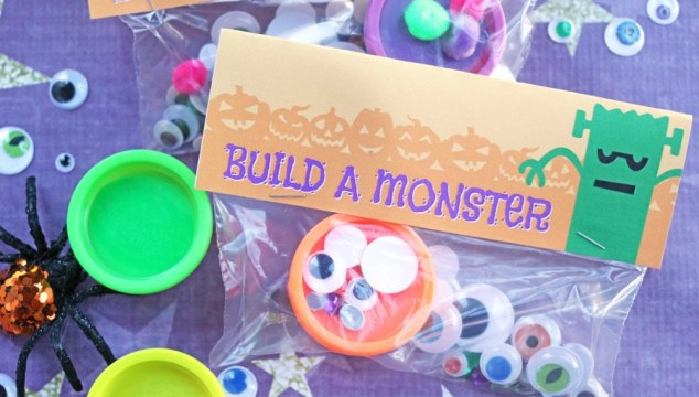 Build A Monster – Free Printable