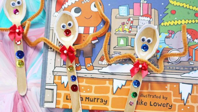 Wooden Spoon Gingerbread Man – Kid Craft