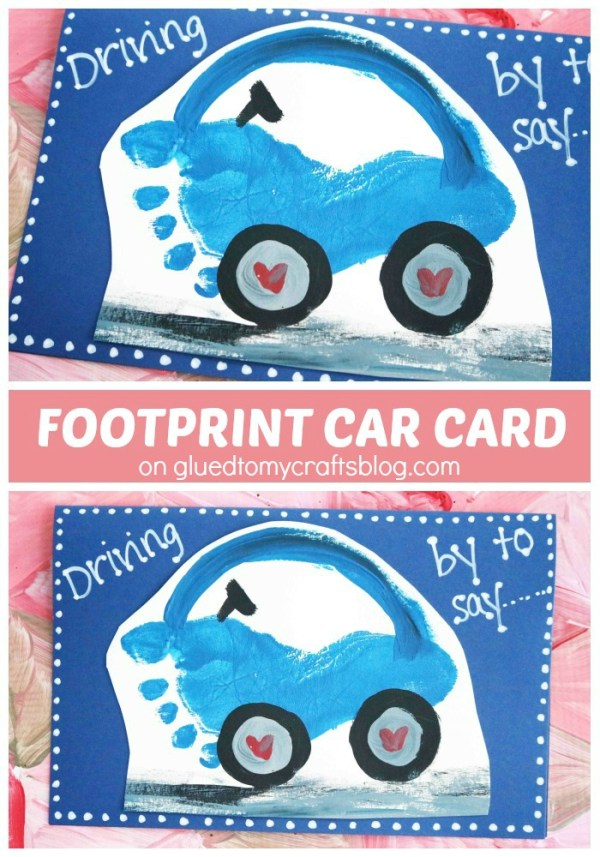 Driving By To Say - Footprint Car Car