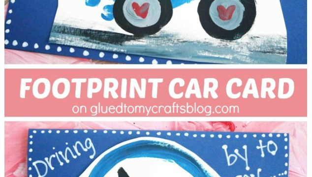 Driving By To Say – Footprint Car Car