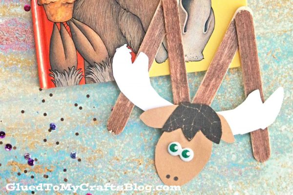 """M"" is for Moose - Popsicle Stick Kid Craft"