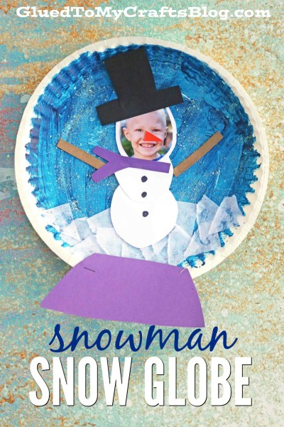 Melted Snowman {Kid Craft}