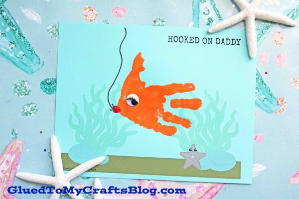 Hooked On Daddy Keepsake Printable