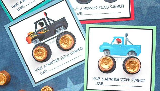 Have A Monster Sized Summer – Free Printable
