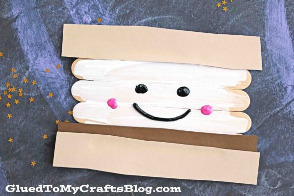 Popsicle Stick Smores - Kid Craft