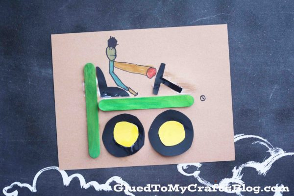 """T"" is for Tractor - Kid Craft"