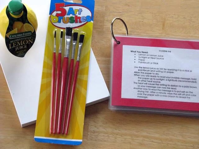 Make your own science kits for kids!