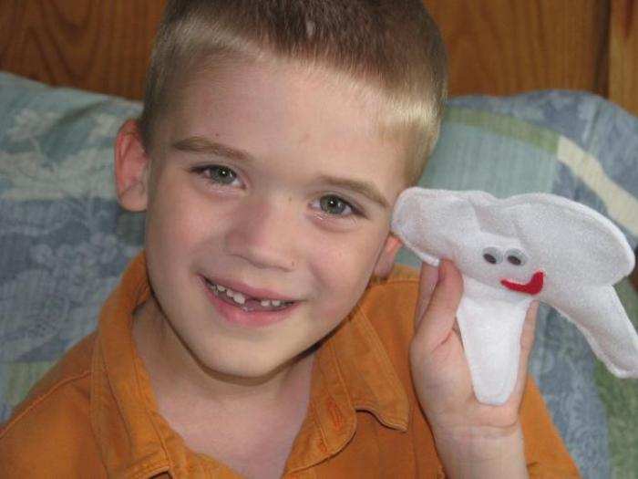 simple tooth fairy pillow