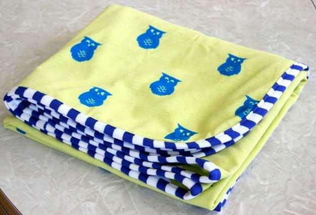 easy knit receiving blanket