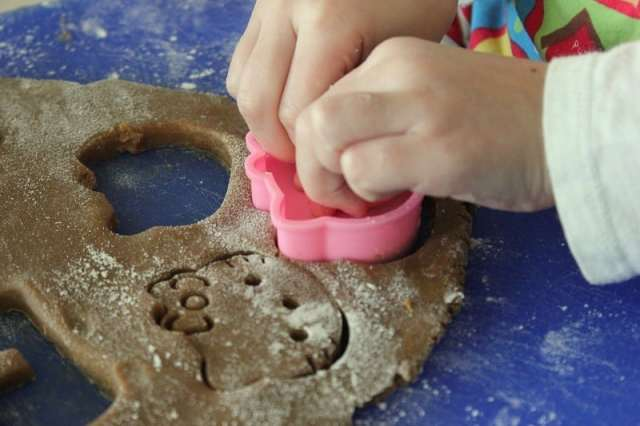 Mini Gingerbread Cookies