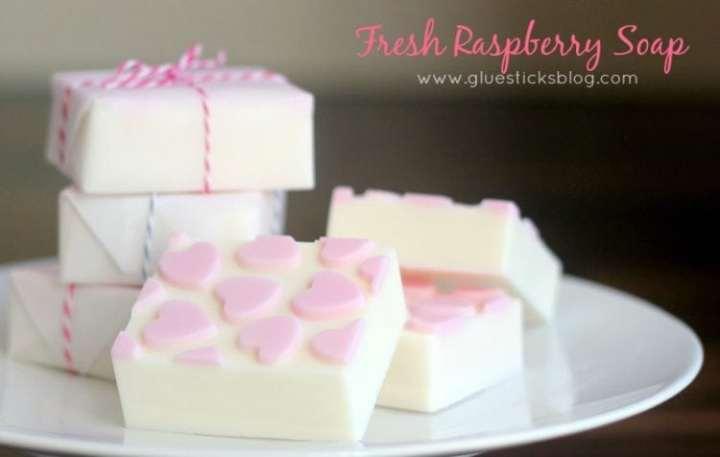 {3 Step} Fresh Raspberry Soap