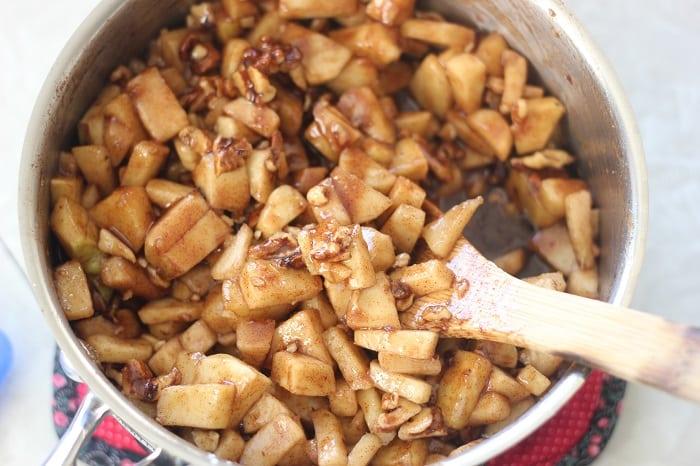 Grandpa Bob's Apple Cinnamon Nut Bread