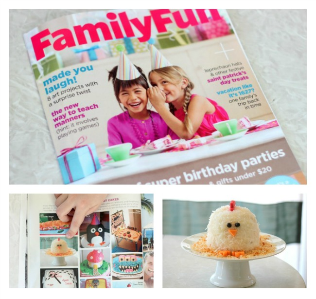 Have You Had A Chance To Check Out The March Issue Of Family Fun Yet It Is Chalked Full Birthday Party And Cake Ideas There Even Page Reader
